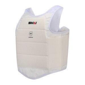 Image 1 - Wkf certificação smai karate protetor de peito karate extremo protetor de peito boxe protetor de peito karate protetor de peito