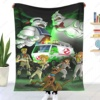 Ghostbusters blankets brand new 3D printed cartoon adult blanket children's cartoon style wrap and winter happy nap bedspread