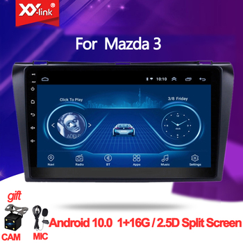Car Multimedia Player Android 10. 0 For Mazda 3 2004-2013 maxx axela Car DVD GPS Radio Stereo audio autoradio mic no 2 din image
