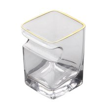 Хрустальный стеклянный удобный вкус Гладкий сигары чашка вина квадратный для виски креативное стекло производитель бар чашка