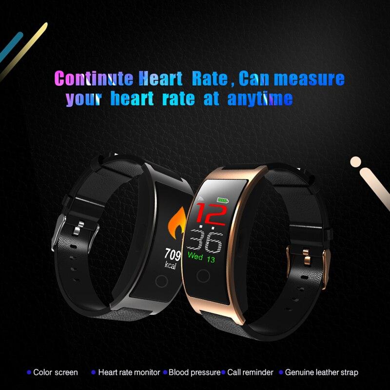 Image 2 - CK11S Smart band Blood Pressure Wristband Blood Oxygen Heart Rate Monitor Smart Bracelet Pedometer IP67 Waterproof smartbandsSmart Wristbands   -