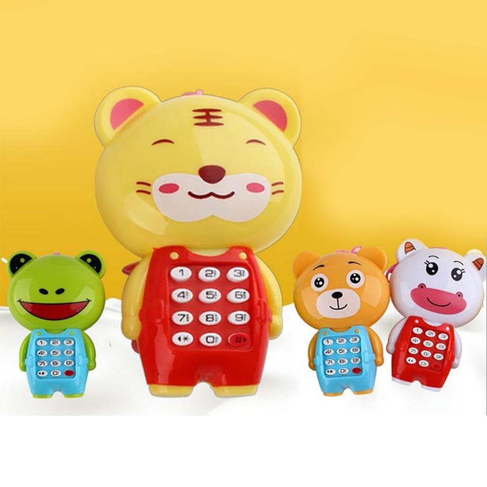 Funny  Kids Baby Creative Cartoon Animal Music Mobile Phone Kids Toy Educational Learning Toy Gift