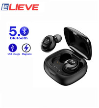 Bluetooth 5.0 Earphone Mini PJD A6S TWS wireless bluetooth headset is suitable for all noise-canceling headsets with smart phone
