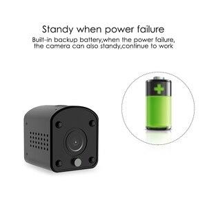 Image 3 - Marlboze 1080P HD WIFI Mini IP Camera Night Vision Motion Detect Mini Camcorder Loop Video Recorder Built in Battery Body Cam