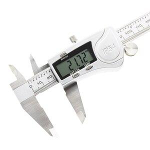 Image 3 - Electronic digital caliper 150mm waterproof IP54 Digital Caliper micrometer guage Stainless Steel vernier caliper Measuring tool