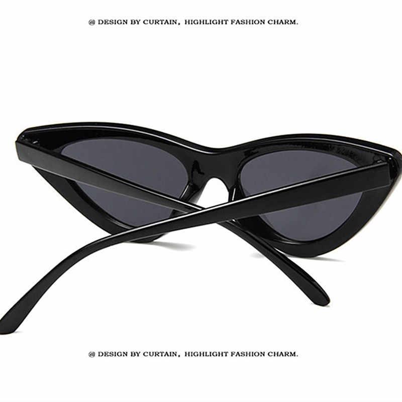 VANEASEL Cat Eye Women Sunglasses For Women Luxury Brand Designer 2019 Vintage Fashion Cute Sexy Ladies Small Sun Glasses UV400