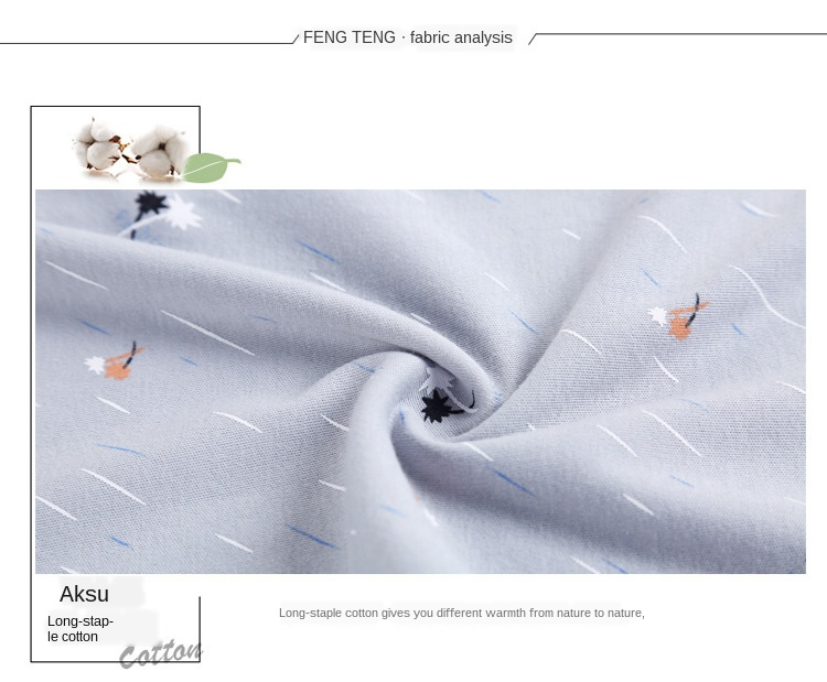 impressão algodão pijamas conforto cor sólida