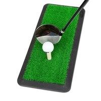 Backyard Golf Mat Golf Training Aids Outdoor Indoor Hitting Pad Practice Grass Mats Game Rubber Grass roots Golf Training LQ650