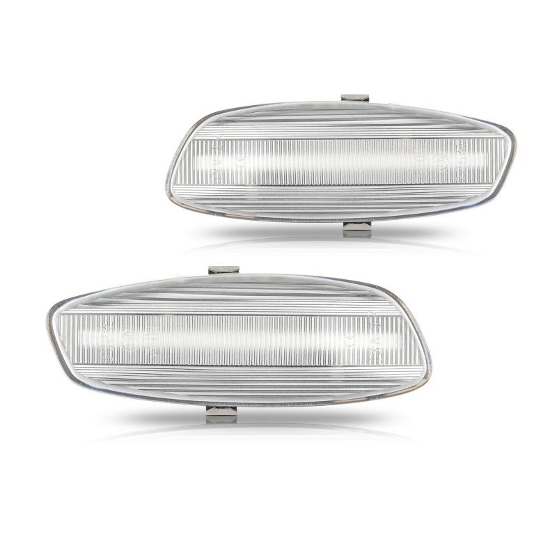 2 led dinâmicos para seta, luz marcador