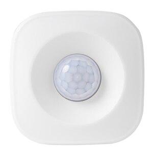 Image 3 - Inteligente sem fio pir sensor de movimento detector compatível para o google casa inteligente alexa casa iluminação pir interruptor sensível noite l