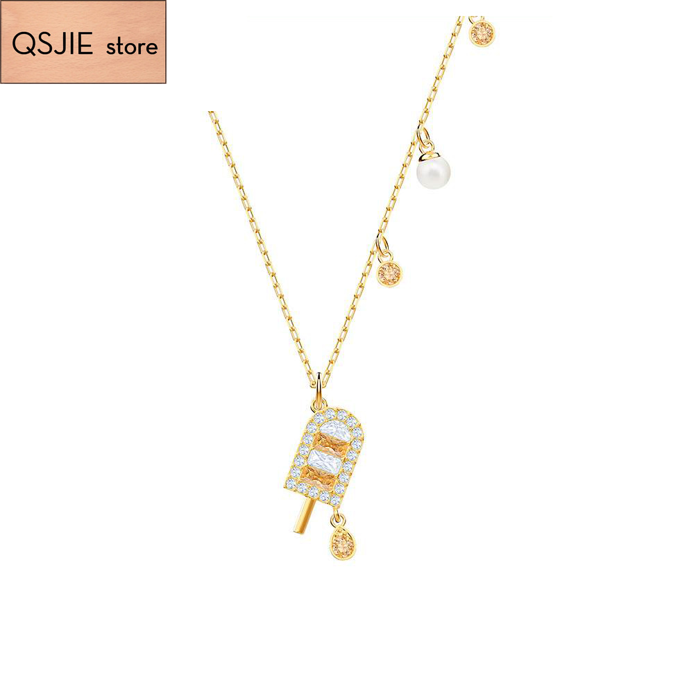 High-quality SWA original 1:1 high-grade romantic simple elegant new ice hockey Necklace