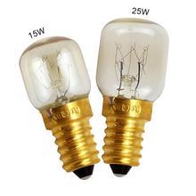 220 В высокотемпературная Лампа 15 Вт 25 Вт E14 300 градусов, светильник для микроволновой печи, лампочка для плиты, Вольфрамовая Лампа накаливания, лампочка, Соляной Светильник