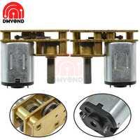 GA1024-N20 DC Reduction Gear Motor 3V 6V 12 volt 100RPM 150 200 300 400RPM Micro Speed Gear Motor With Metal Gearbox Wheel DIY