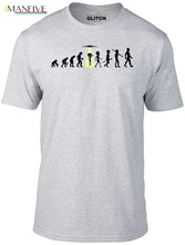 Mens Evolution - Alien Abduction T-Shirt Ufo Invasion Beam Me Up Space Area 51 Fashion 3D T Shirt Hot 2019 Man Clothes