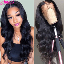 HD Transparent Lace Frontal Wig Body Wave Long Front Human Hair Wigs Remy Brazilian Natural Pre Plucked With Baby Hair For Women(China)