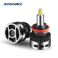 AOSHIKE 2PCS Car LED Headlights 50W 360 Degree High Bright Bulb Super Bright H1 H7 H11 Low Beam Lights Headlamp Fog Light Blub