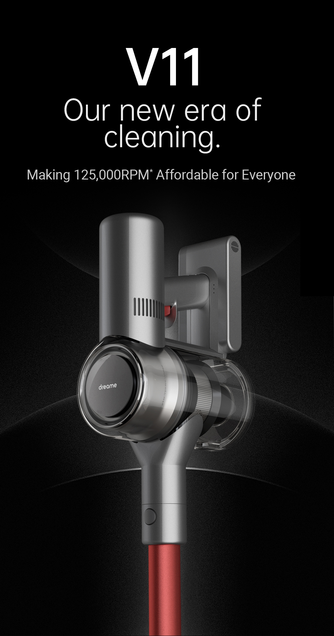 Dreame V11 Handheld Wireless Vacuum Cleaner