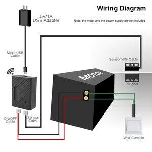 """Image 3 - Interruptor WiFi controlador de abridor de puerta de garaje inteligente Compatible con Alexa, Control por voz de Google IFTTT Smart """"eWeLink"""" APP control"""
