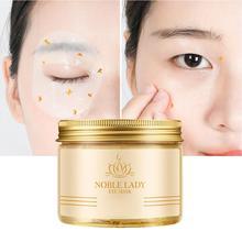 80 PCS Womens 24K Gold Eye Mask Removal Dark Circles Bags Moisturizing Nourishing Care Skin Products