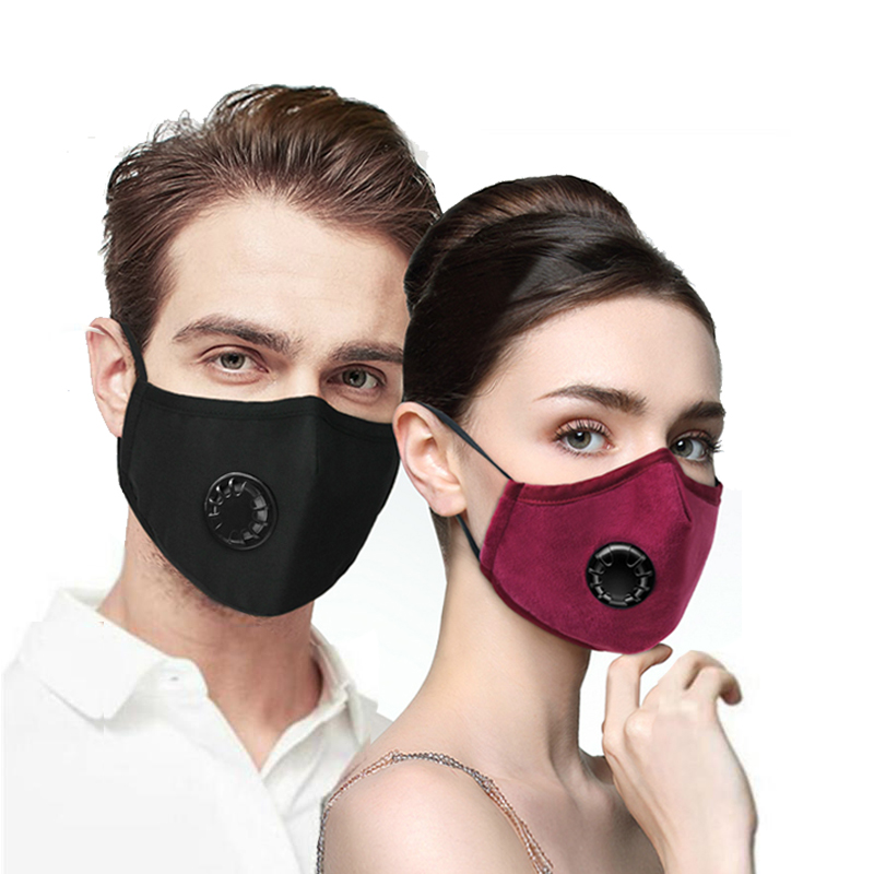 Reusable Face Mask Washable Mouth Masks With Respirator Anti-Dust Protection For Women Men Facemask Filter Masque Reutilisable