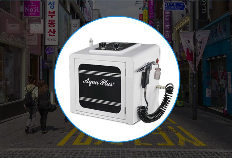 Korea Ultrasonic Small Micro Small Bubbles Water Aqua Peeling Face Clean Beauty Machine