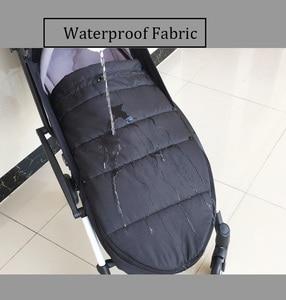 Image 4 - Evrensel bebek arabası aksesuarları su geçirmez Sleepsacks uyku tulumu sıcak ayak çorap Babyzen YOYO 2 YOYO2 arabası