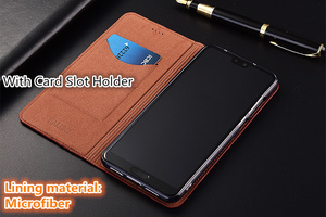 Image 3 - High end lizard pattern natural leather case card slot holder for ZTE AXON 7 A2017/ZTE AXON 7 Mini magnetic phone case cover