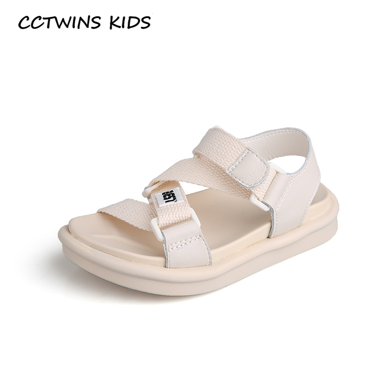 CCTWINS Kids Shoes 2020 Summer Children Fashion Beach Sandals Baby Girls Brand Soft Flat Boys Casual Shoes Toddlers BS482