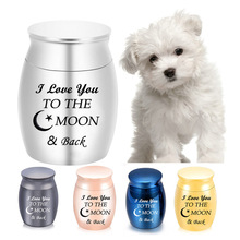 Jar Memorial Cremation-Urns Funeral-Urn Pet-Keepsake Mini Urn Ashes Human Cat And Dog