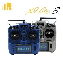 Frsky taranis x9 lite s transmissor 2.4ghz, acesso 24ch accst d16 mode2, sensor de salão, gimbal fcc, treinamento sem fio sistema com sistema