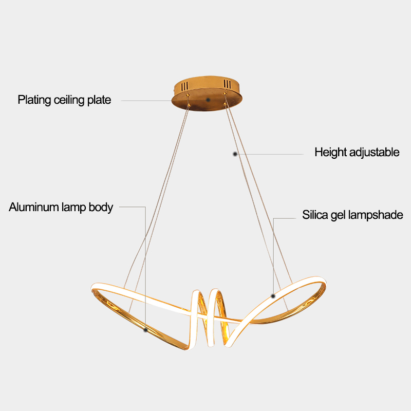 lowest price Modern Pendant Lights Kitchen Fixtures For Dining Room Restaurant Bars Home Bedroom White Black Red Lighting Deco Hanging Lamp