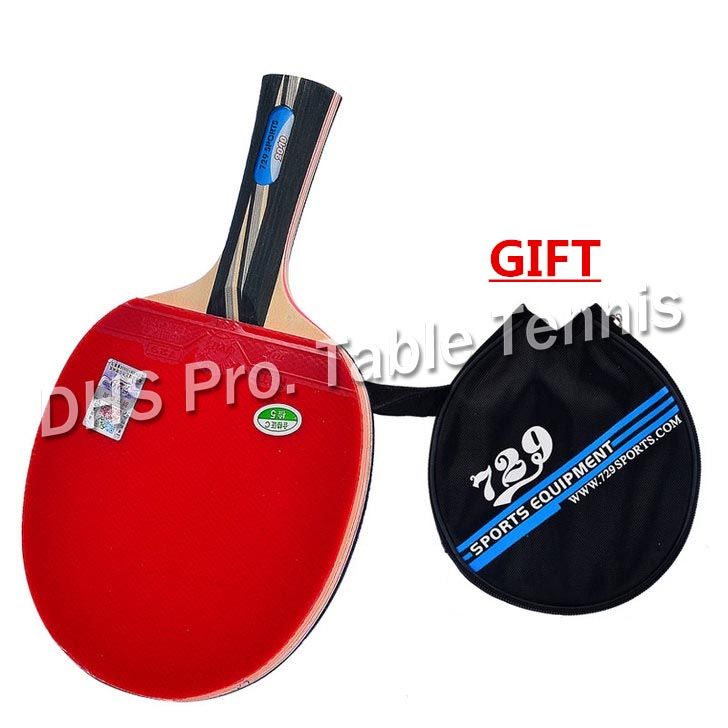 RITC 729 Friendship 2060 2040 Pips-In Table Tennis Racket With Case For PingPong