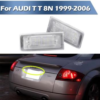цена на LED License Plate Number Lamp Signal Lights For AUDI TT 8N 1999-2006