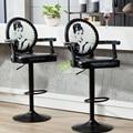 Современный барный табурет  барный стул с ручкой  косметический стул  мебель для салона красоты