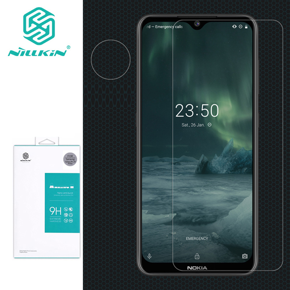 Tempered Glass For Nokia 7.2 NILLKIN Amazing H Anti-Explosion Tempered Glass Screen Protector For Nokia 6.2