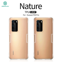 For Huawei P40 Pro Case NILLKIN Ultra Thin Slim TPU Case For Huawei P40 Pro Fitted Cases Cover For Huawei P40 Pro for cover huawei p40 case huawei p40 coque protective stylish smooth skin pc matte ultra thin phone case for huawei p40 cover
