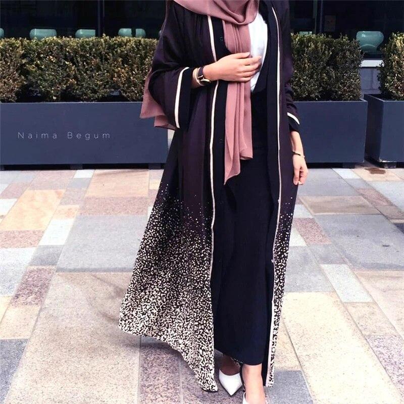 Dromiya Abaya Kimono Cardigan Muslim Dress Hijab Women Abayas Caftan Marocain Kaftan Robe Femme Turkish Dubai Islamic Clothing Islamic Clothing Aliexpress