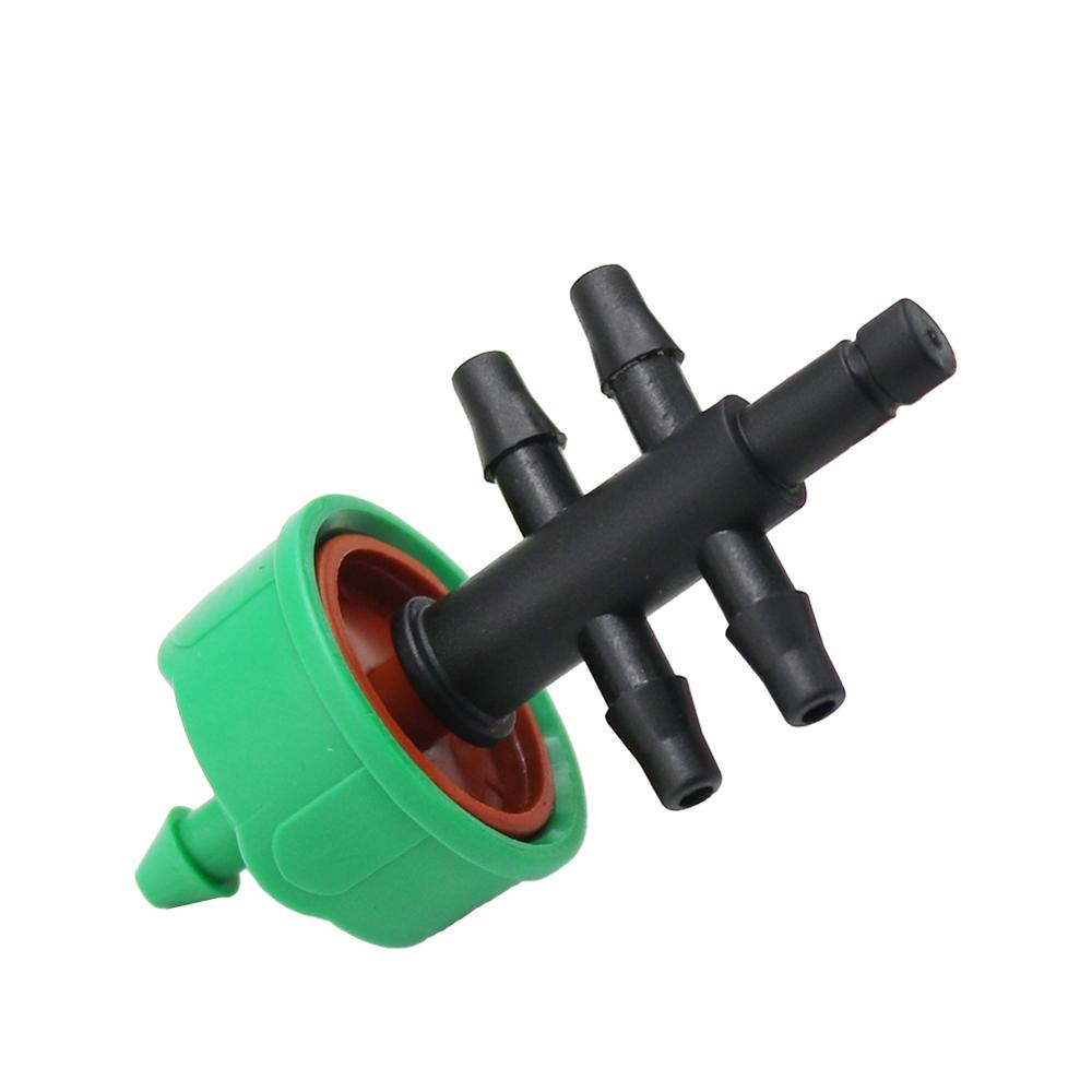 40 Sets Drip Irrigation 5-way Hose Splitters 4-way Cross Connector Water Adapter