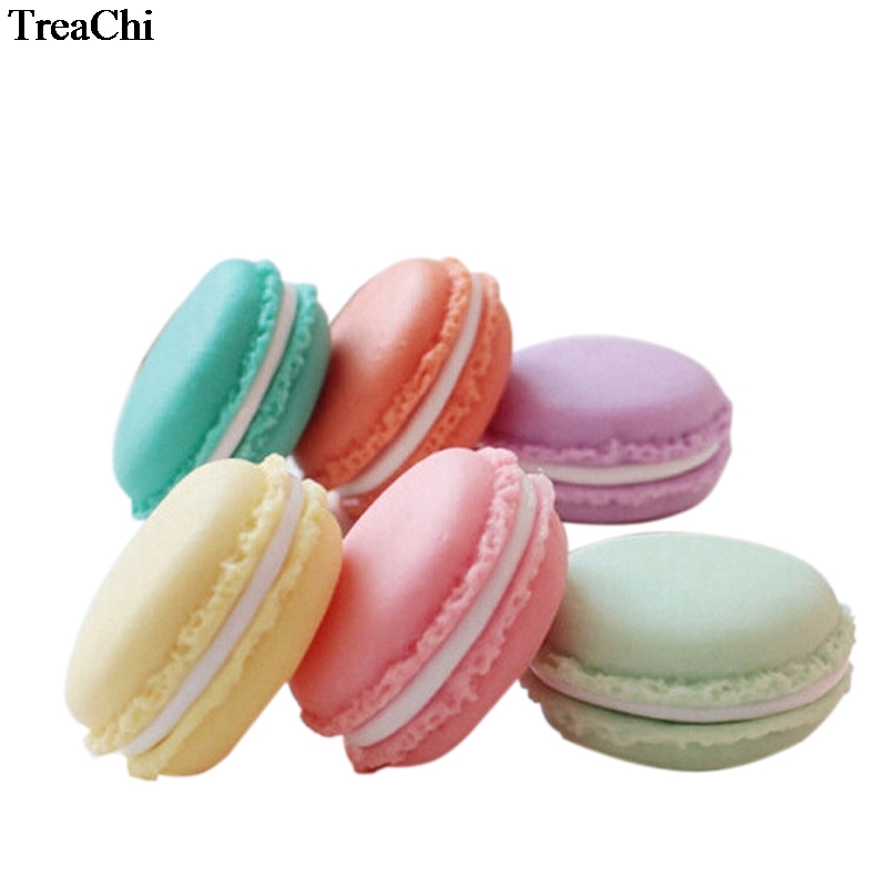 Candy Color Macaron Jewelry Storage Case Mini Earrings Ring Necklace Organize Box Pills Home Accessory Decor Box Ring Holder