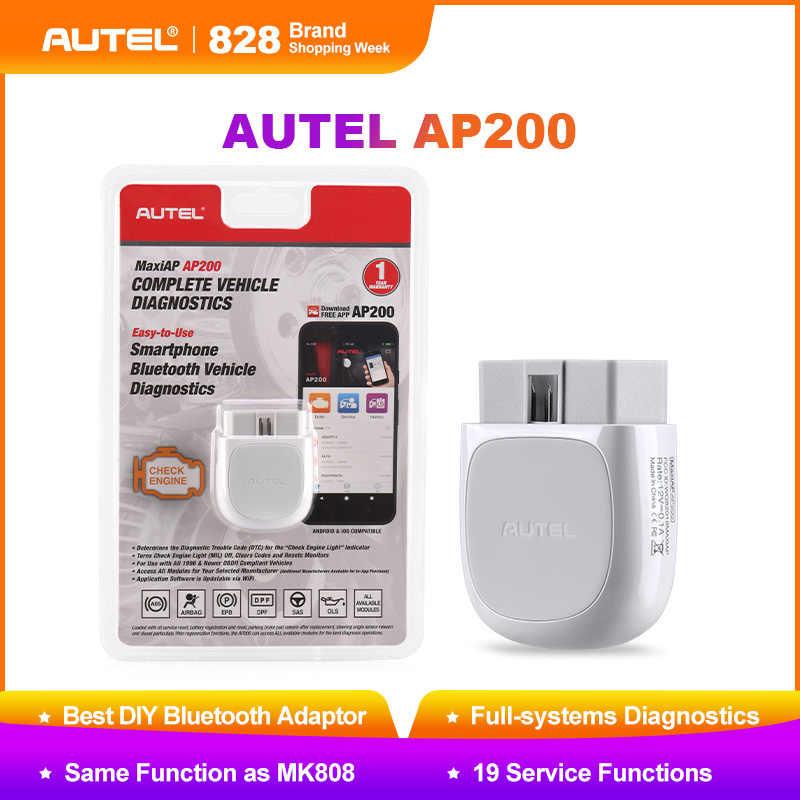 Autel AP200 Bluetooth Car Diagnostic Tool All System OBD2