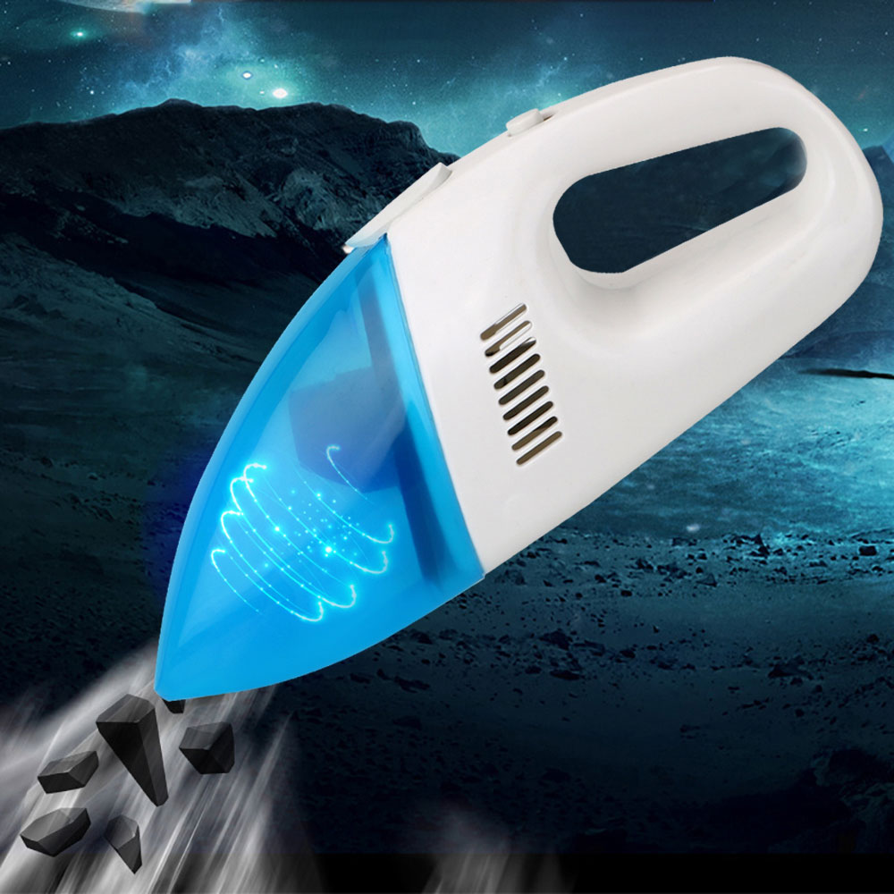 Car Accessories 12V 60W Portable Car Vacuum Cleaner Super Suction Car Wet & Dry Dual-use Cleaning Mini Handheld Vacuum Cleaner
