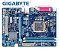 Оригинальная Материнская плата Gigabyte GA-B75M-D3V B75M-D3V DDR3 LGA 1155 Материнская плата