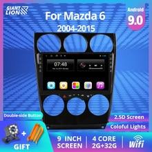 9 ''IPS 2din Android 9,0 Auto Multimedia Dvd-Radio-Player Für Mazda 6 2004-2014 Auto Dvd Gps navigation Auto Radio Stereo-Player