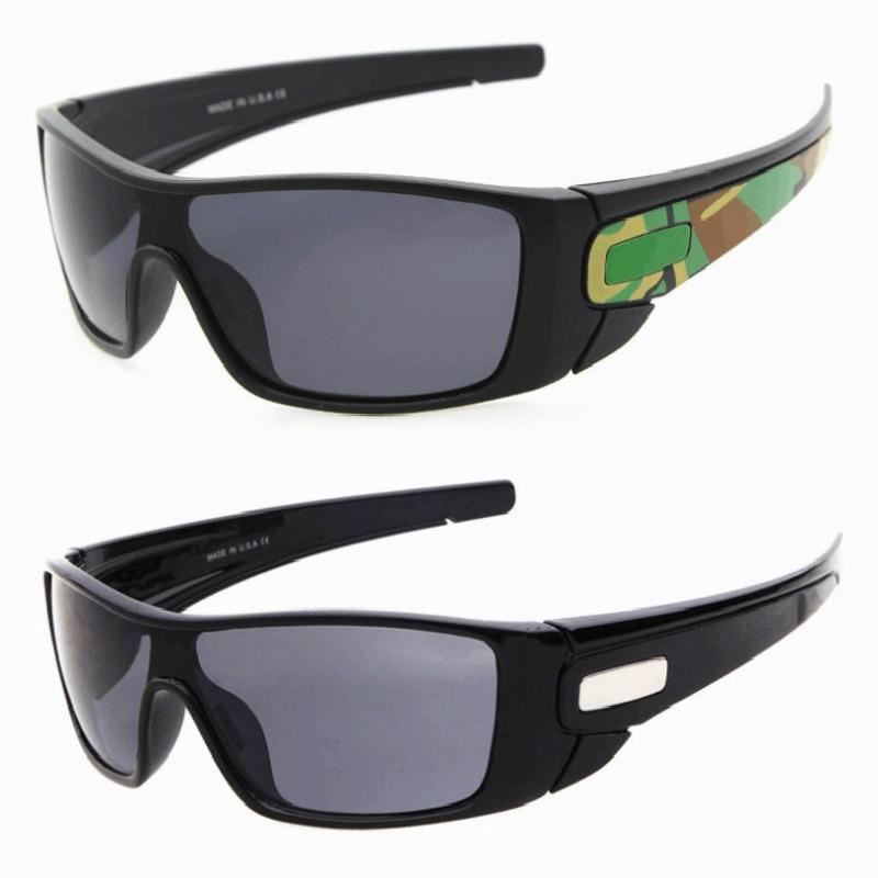 Classic Men's Sunglasses For Sports Travel Mirror Outdoor Goggles Camouflage Oversized Sun Glasses UV400