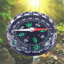 Новая карманная кнопка для выживания дизайн компаса альпинизма