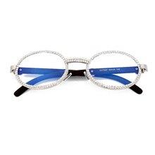 Vintage Round Diamond Sunglasses Men 2020