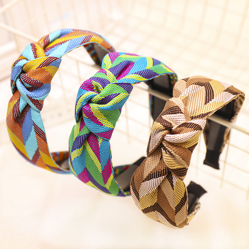 Ribbon Knot Headband Hairband Knotted Hairband Hair Accessories