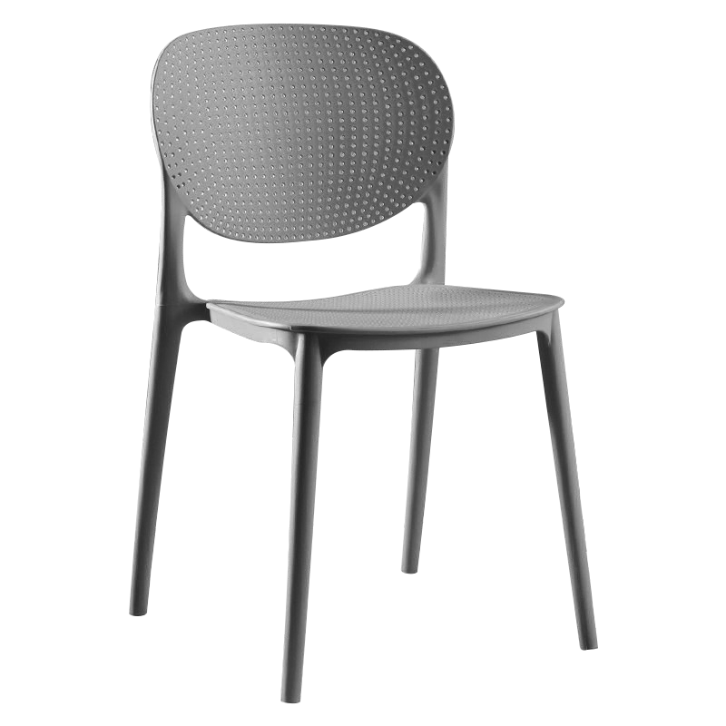 Plastic Chair Simple Modern Office Computer Chair Home Creative Chair Adult Fashion Thick Backrest Chair