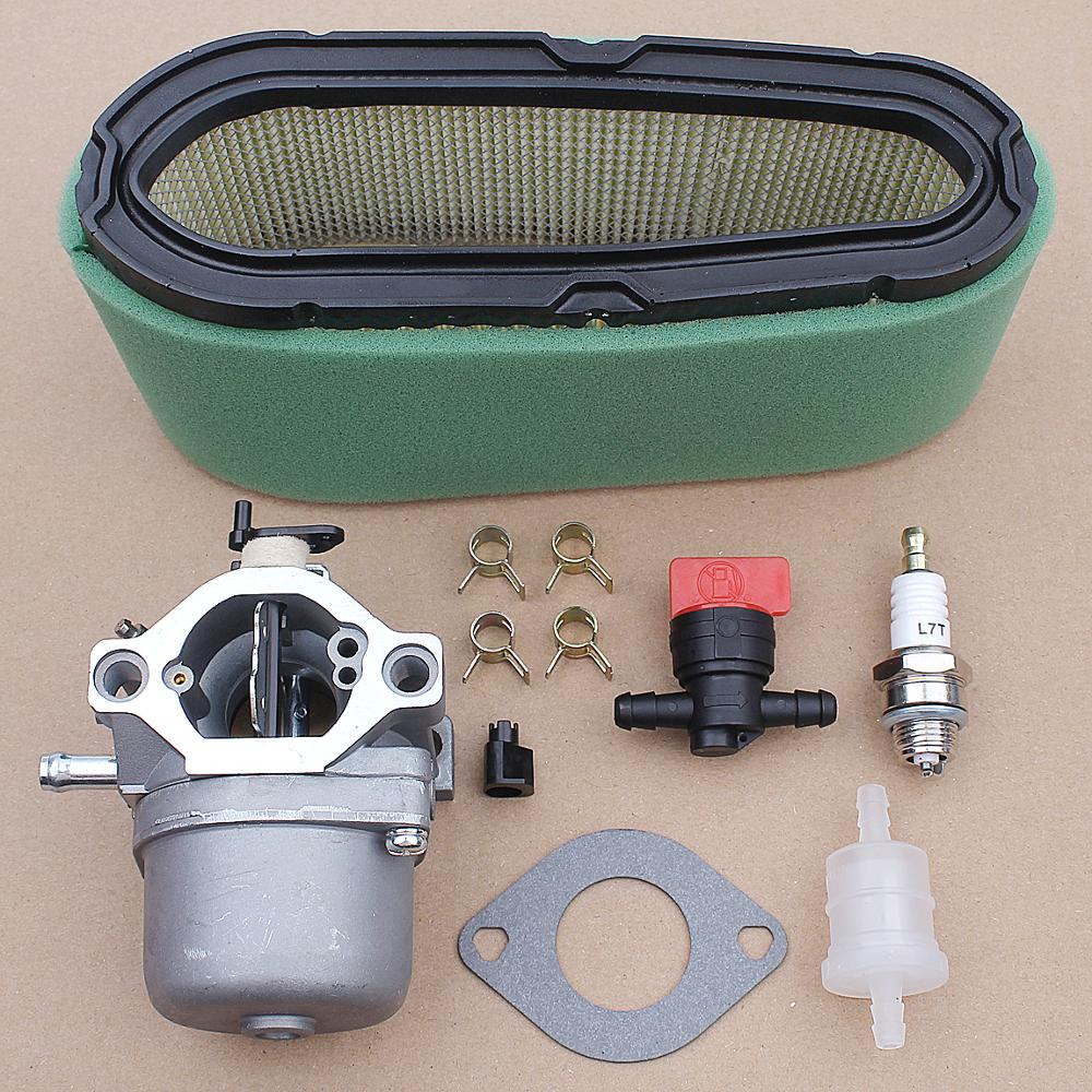Carburetor Carb with Gasket O-ring Air Filter Kit for Briggs Stratton 498027 498231 799728 496894 493909 Engine Parts