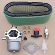 Carburetor Carb with Gasket O-ring Air Filter Kit for Briggs Stratton 498027 498231 799728 496894 493909 Engine Parts стоимость